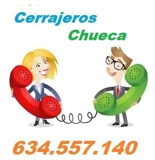 Telefono de la empresa cerrajeros Chueca